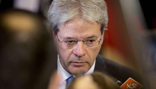 Le ministre des affaires étrangères italien, Paolo Gentiloni, a été nommé président du conseil.