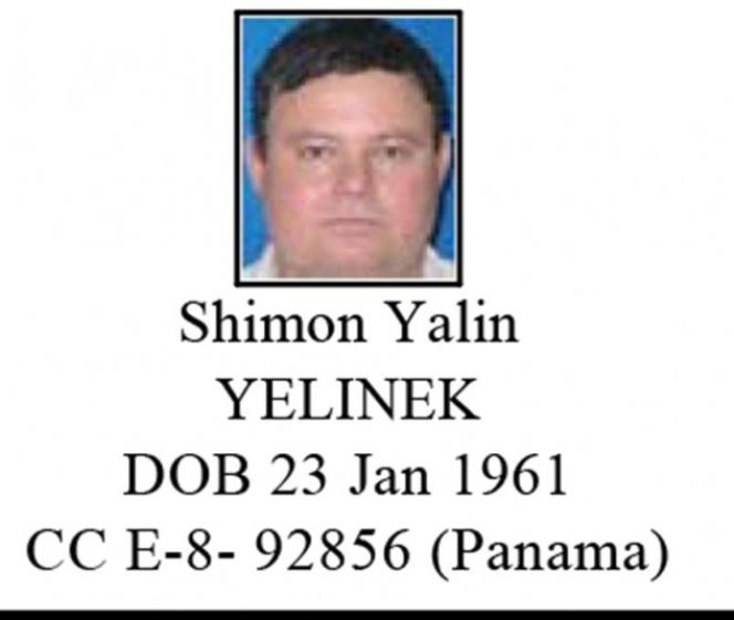 Fiche de police sur Shimon Yelinek