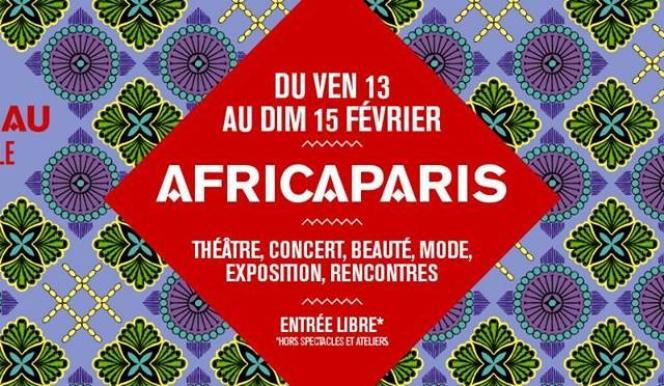 Affiche du festival Africa Paris.