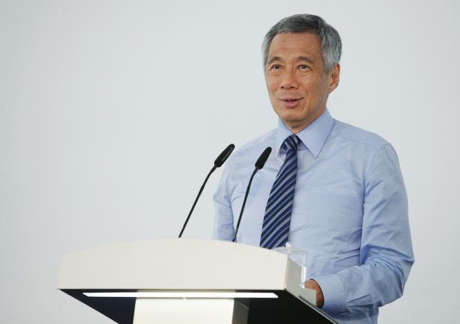 Le premier ministre singapourien, Lee Hsien Loong, le 2 septembre 2014 à Singapour.