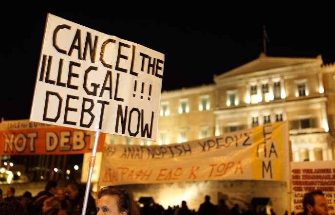 Athènes, le 16 février 2015.