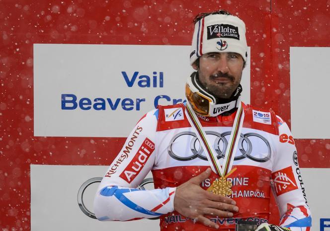 A l'issue des Mondiaux 2015 de Beaver Creek, le Savoyard offre à la France sa troisième médaille.