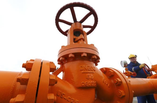 Conduite de gaz opérée par Gazprom en Hongrie.