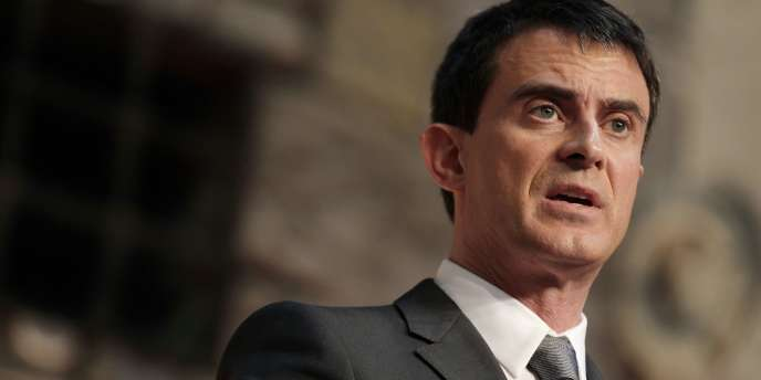 Manuel Valls, le 13février.