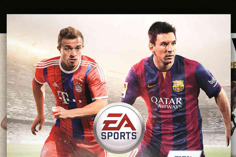 FIFA 15 premier produit culturel en France en 2015.