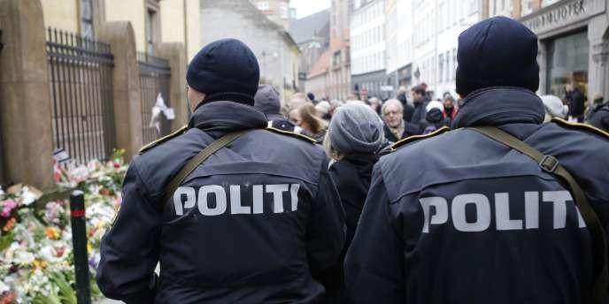 A Copenhague, le lundi 16 février.