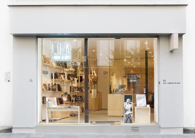 La librairie LO/A, au numéro 17 de la rue Notre-Dame-de-Nazareth.