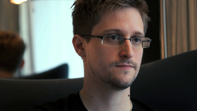 Edward Snowden dans «Citizenfour», le documentaire de Laura Poitras.