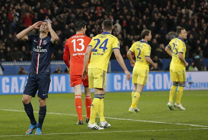 Le PSG est dans une position défavorable avant d'aller défier les Londoniens dans leur antre de Stamford Bridge, pour le match retour le 11 mars.