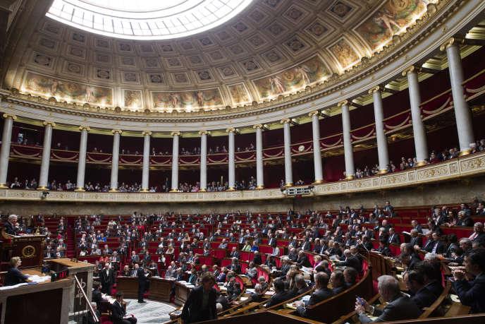 L'Assemblée nationale, le 17 février.