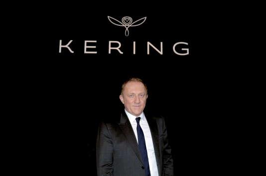 François-Henri Pinault , PDG du groupe Kering auquel appartient Brioni.