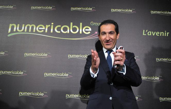 Le patron de SFR-Numericable Patrick Drahi en mars 2014.