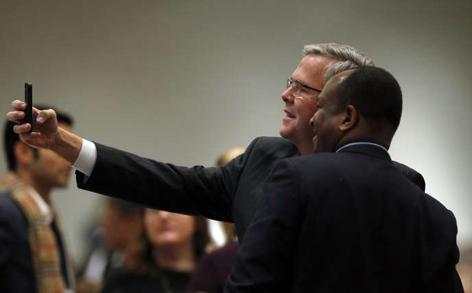 Jeb Bush à Chicago le 18 février.