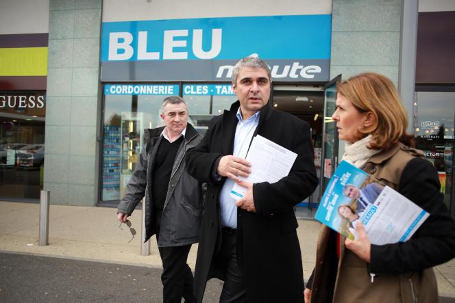 Michel Suere, seul maire de droite de l'agglomération biterroise à se présenter contre les listes de Robert Ménard aux départementales.