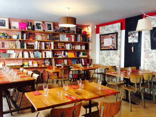 Le bistro bar Nord Marais.
