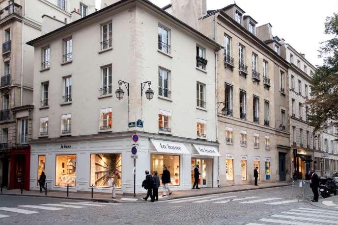 La librairie La Hune à Paris.