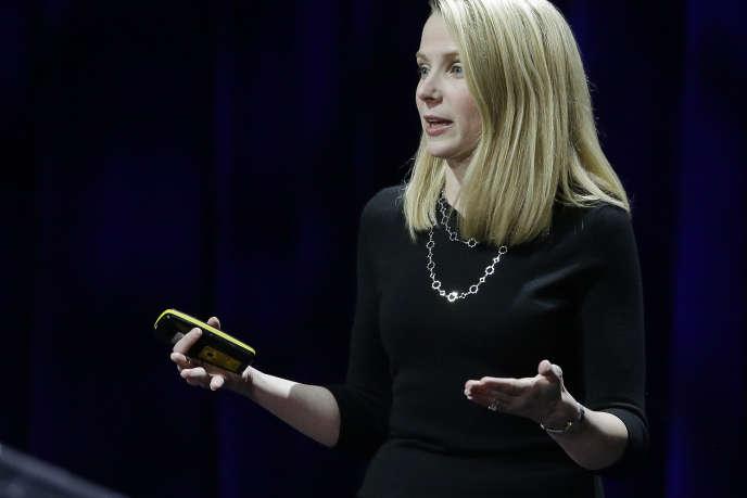 Marissa Mayer, PDG de Yahoo! à San Francisco (Californie), le 19 février.