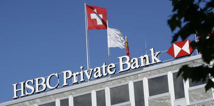 Le siège de HSBC Private Bank à Genève en 2008.