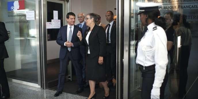 Marie-France Monéger-Guyomarc'h a été nommée  à la tête de l'Inspection générale de la Police nationale (IGPN) en 2012 par Manuel Valls, alors ministre de l'intérieur.