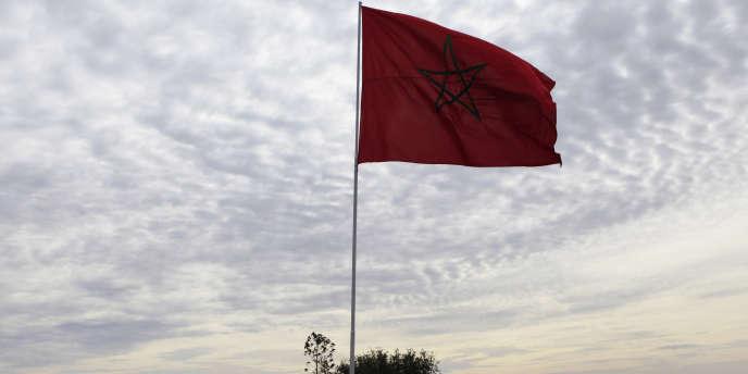Le drapeau du Maroc.