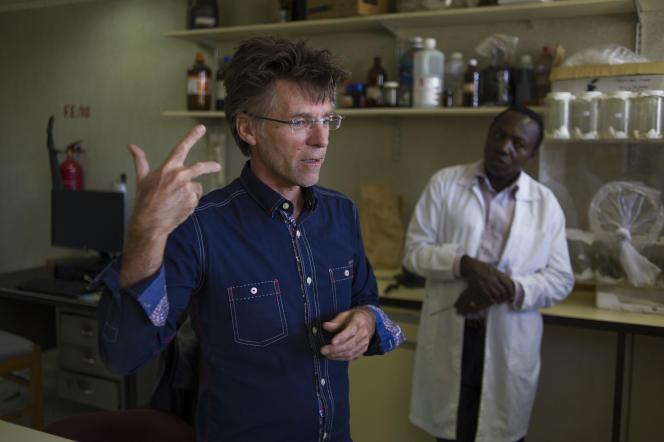 Thibaud Martin, le directeur de recherches du Centre français de coopération internationale en recherche agronomique pour le développement (Cirad), détaché au Kenya depuis deux ans.