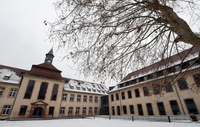 L'Ecole nationale d'administration à Strasbourg, en janvier 2013.