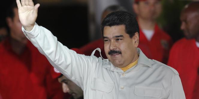 Le président venezuélien Nicolas Maduro le 19 février.