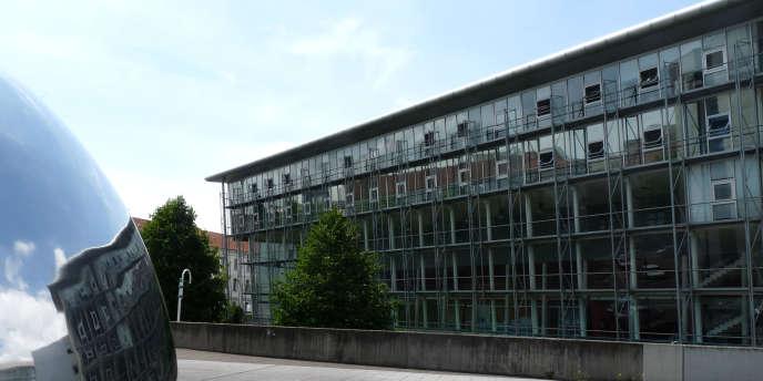 Le CUEJ, à Strasbourg.