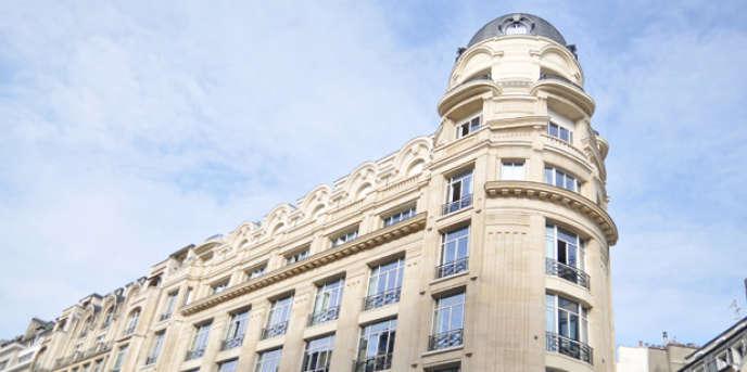 Le Centre de formation des journalistes, à Paris.