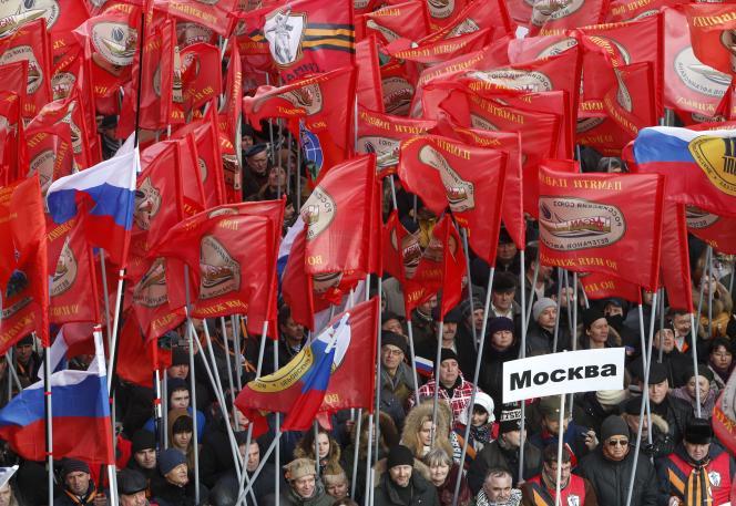 La manifestation anti-Maïdan de Moscou a rassemblé 35 000 personnes selon la police.