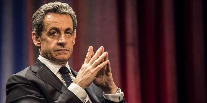 Nicolas Sarkozy à Chalon-sur-Saône, le 19 février 2015.