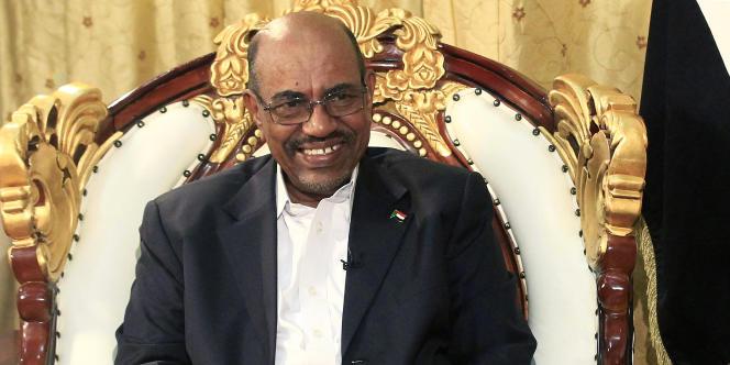 Le président soudanais Omar Al-Bachir, en 2014.