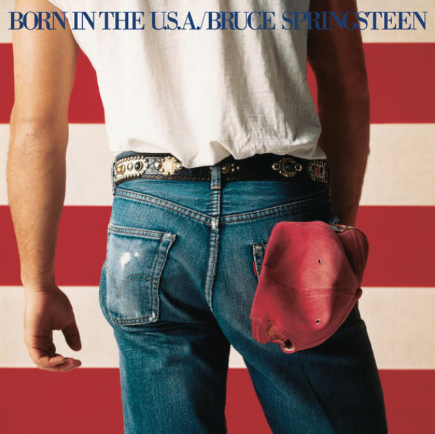 "Le 501 de Bruce Springsteen et de ""Born in the U.S.A."" en 1984, tout un symbole…"