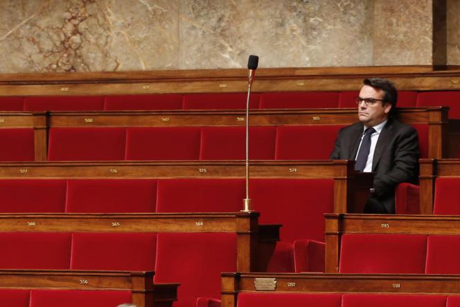 Thomas Thévenoud, à l'Assemblée nationale, en novembre 2014.