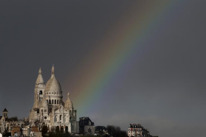 La basilique du Sacré-Cœur, à Paris.