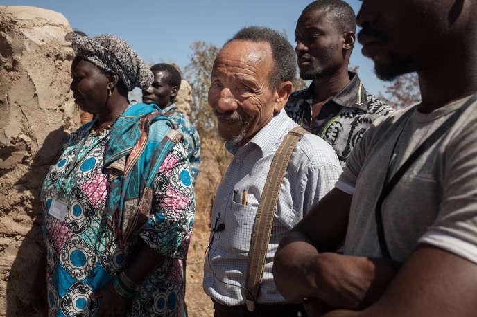 Pierre Rabhi, lors des rencontres agroécologiques  qui se sont tenues au Burkina Faso en février 2015.