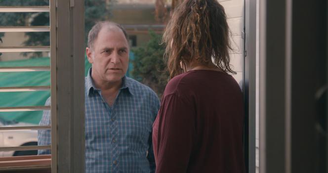 Tzahi Grad et Maayan Turjeman (de dos) dans le film israélien, français et allemand de Keren Yedaya,