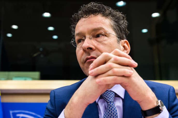 JoerenDijsselbloem est candidat à un second mandat à la tête de l'Eurogroupe.