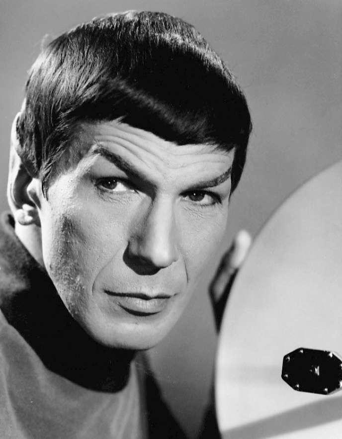 Leonard Nimoy, dans le rôle de Spock.