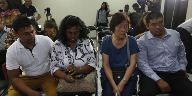 L'Australie mène campagne pour empêcher les exécutions de Myuran Sukumaran, 33 ans, et Andrew Chan, 31 ans, condamnés en 2005 pour trafic d'héroïne. Ici, les proches des deux hommes.