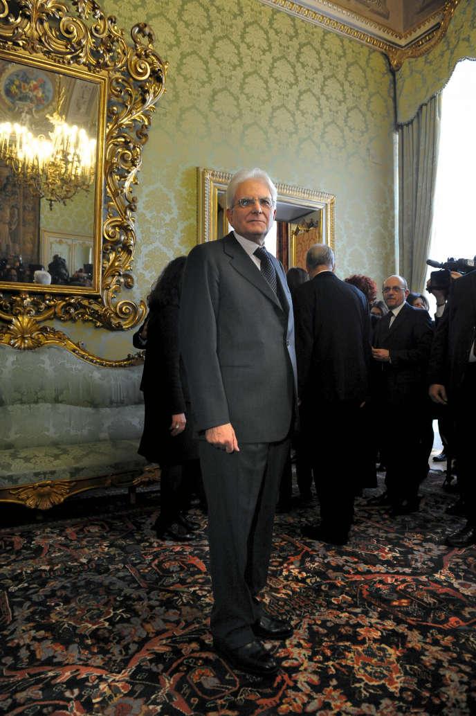 Président de la République italienne depuis le 31 janvier, Sergio Mattarella bénéficie déjà d'une cote de confiance de près de 50%. La simplicité récompensée ?
