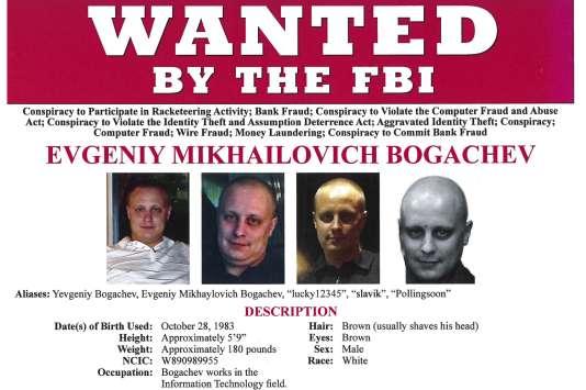 Evgueni Bogatchev,  tête pensante d'un redoutable réseau cybercriminel, à l'origine de la création, de la propagation et de l'évolution du cheval de Troie « Zeus ».