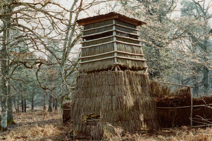 Un mirador du domaine de Chambord. Les installations de chasse de Chambord ont la réputation d'être parmi les plus belles de France.