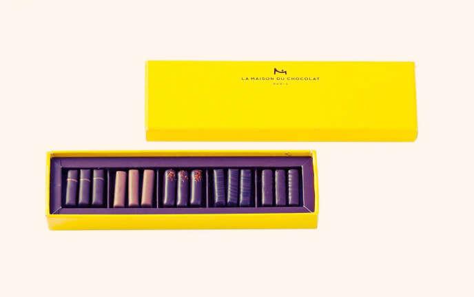 Le format 15 chocolats.
