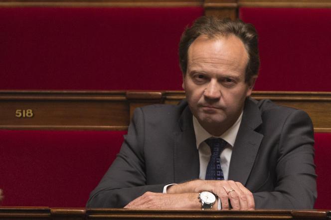 Le député socialiste Jean-Marc Germain, auteur du rapport sur la réorientation budgétaire, en septembre 2014.