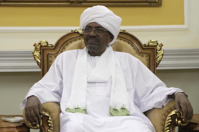 Le président soudanais Omar Al-Bachir, à Khartoum, le 10 septembre 2014.