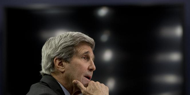 John Kerry à Washington le 25 février.
