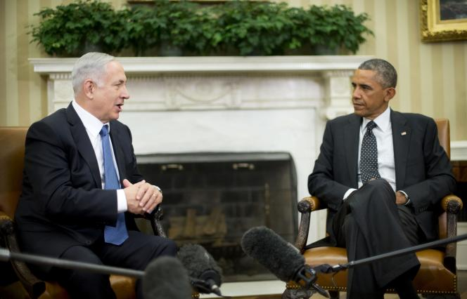 Benyamin Nétanyahou et Barack Obama, le 1er octobre 2014, à Washington.
