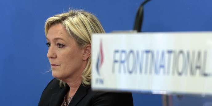 Marine Le Pen, à Nanterre, le 17février.