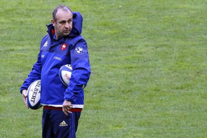 Philippe Saint-André a annoncé sa liste de 36 joueurs en vue de la Coupe du monde, groupe qu'il devra réduire à 31 hommes d'ici à la fin du mois d'août.
